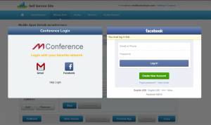 mConference secure login